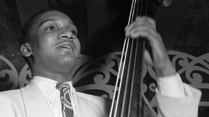 Jazz cello player Oscar Pettiford, the subject of a tribute at Dublin's National Concert Hall