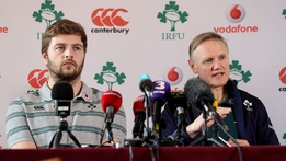 RBS 6 Nations: Joe Schmidt Team Announcement (Scotland)