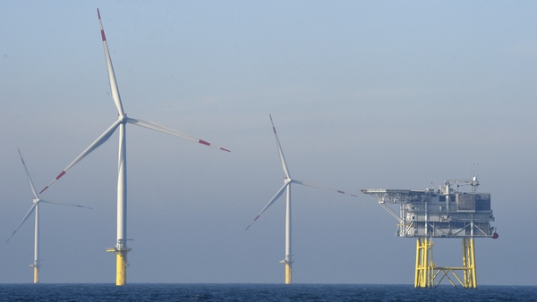 The Programme for Government commits to 5,000 megawatts of offshore wind energy by 2030