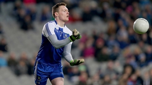 Rory Beggan in action for Monaghan