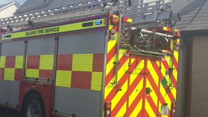 Fires affected a number of counties, including Galway