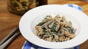 OT: Creamy Mushroom Pasta