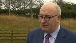 Phil Hogan said Theresa May did not mention the Customs Union in her letter triggering Article 50 to commence the Brexit process