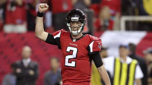 Matt Ryan led an offence that scored an average 33.8 points per game in the regular season