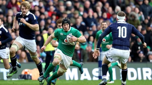 O'Brien is hoping Ireland can quickly learn the lessons from the Murrayfield defeat