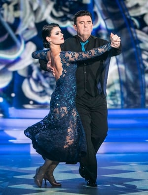 Week 5: Dancing Dessie showed his serious side with this sensational tango.