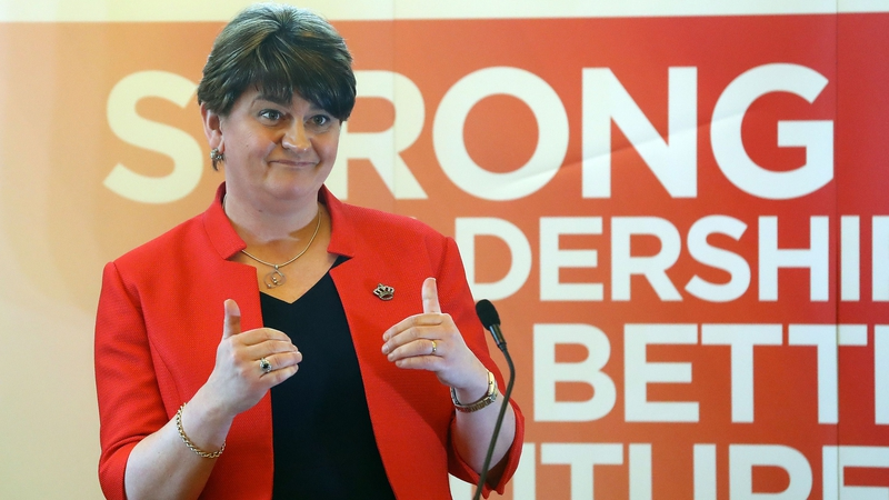 Arlene Foster also said she understands the anger people feel over the botched renewable heating scheme