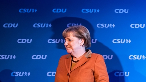The latest ZEW index is good news for German Chancellor Angela Merkel