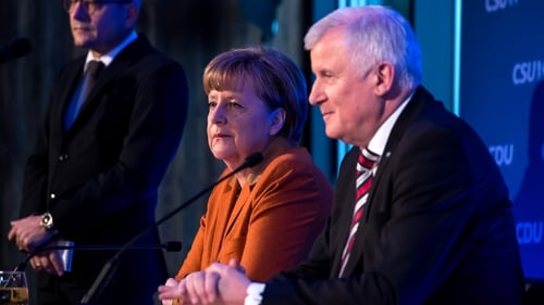 """Sources said Horst Seehofer complained that he had endured a """"conversation with no effect"""" with Angela Merkel yesterday"""