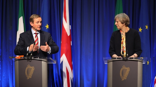 Enda Kenny and Theresa May have said that there will be 'no return to the borders of the past'