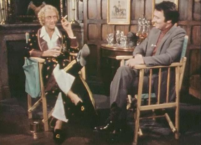 Marty Feldman and Mike Murphy
