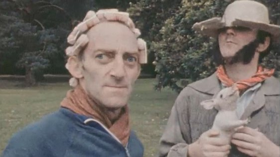 Marty Feldman and Mike Murphy