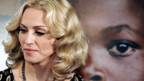 Madonna - Had denied adoption reports last month