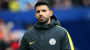 Aguero broke a rib after being involved in a road accident