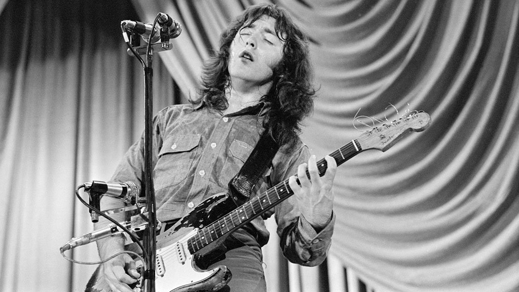 Rory Gallagher in 1972