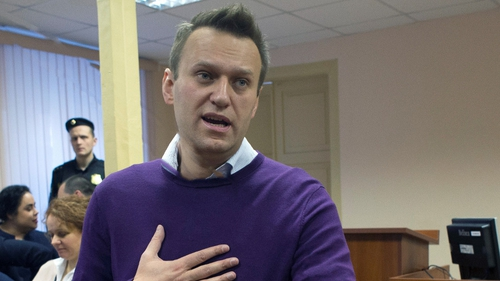 Alexei Navalny was serving a 30-day sentence for calling a mass protest when he fell ill