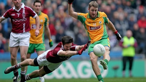Slaughtneil and Corofin met in the 2015 All-Ireland club SFC final on St Patrick's Day at Croke Park
