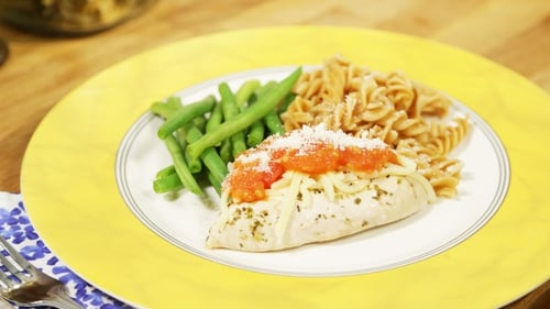 OT: Chicken Parmesan with steamed green beans