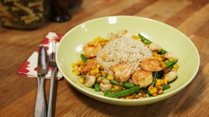 A healthy dinner idea from Operation Transformation: Non Chop Prawn Stir-Fry