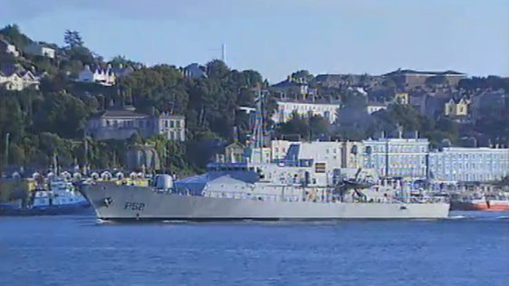 LÉ Niamh in Cork Harbour (2002)
