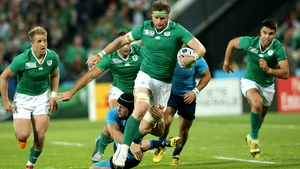 Jamie Heaslip announced his retirement due to a back injury