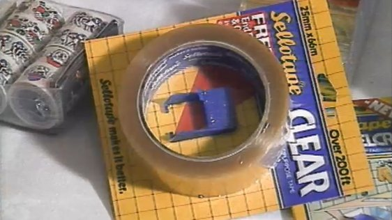 Sellotape End Finder