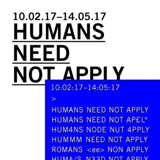 """""""Humans Need Not Apply"""" and artist Ross Goodwin at the Science Gallery"""