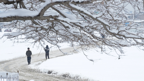 A massive snowstorm dumped as much as two metres of snow on areas of Afghanistan over the weekend