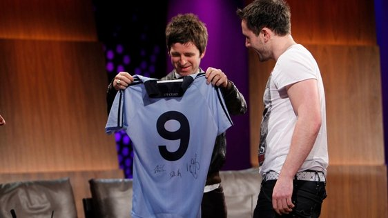 Noel Gallagher and Declan Lally