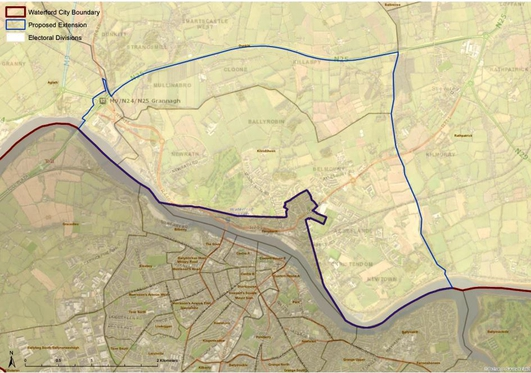 Kilkenny Waterford Boundary