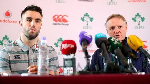 RBS 6 Nations: Healy and Ryan to start against Italy