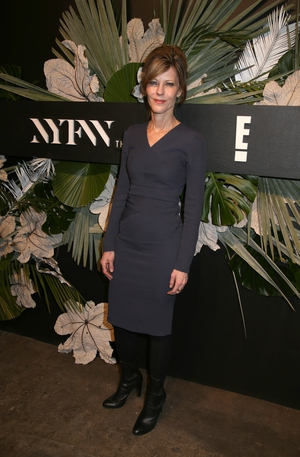 Thursday Day 1: Very chic Editor-in-Chief of ELLE Robbie Myers at the E!, ELLE & IMG event.