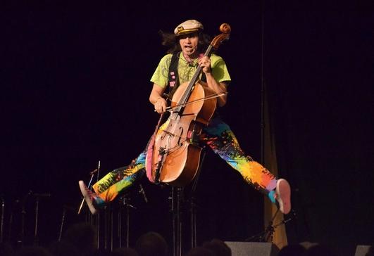 Rushad Eggleston at the Spike Dublin Alternative Cello Festival