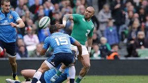 Zebo will win his 30th international cap against Italy