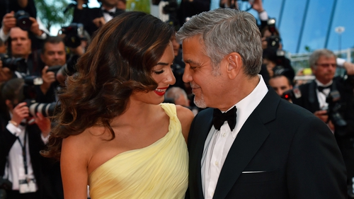 """George Clooney - """"I know swaddling. I know what I'm in for."""""""