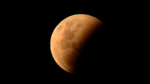 The eclipse can be seen from moonrise which starts at approximately 9.07pm until around 1.17am