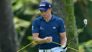 Paul Dunne has struggled at the Saujana Golf and Country Club