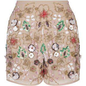 We are in love with these nude shorts from River Island.