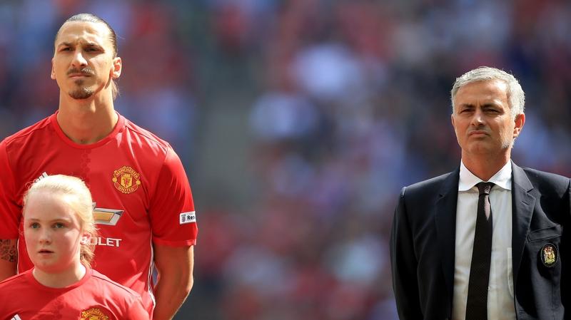 Zlatan Ibrahimovic, furioso con José Mourinho 0