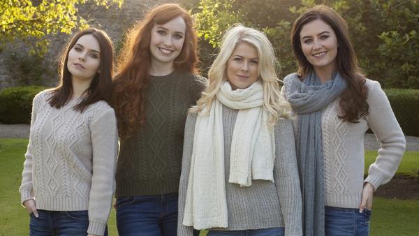 Mairead Carlin, Tara McNeill, Susan McFadden and Eabha McMahon