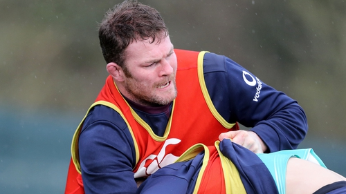 Donnacha Ryan recovered from a neck problem