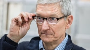 Apple's chief executive Tim Cook will be in Ireland later this month