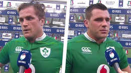 RBS 6 Nations: Jamie Heaslip & CJ Stander