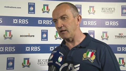 RBS 6 Nations: Conor O'Shea on Italy's failings against Ireland