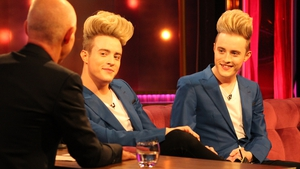 John and Edward Grimes take their hair to new heights