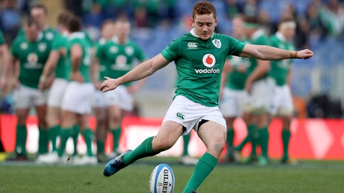 Paddy Jackson and Jonathan Sexton are vying for the number 10 jersey