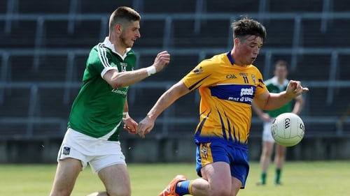 Keelan Sexton, pictured here in action against Limerick last summer, was a constant thorn in the Down side