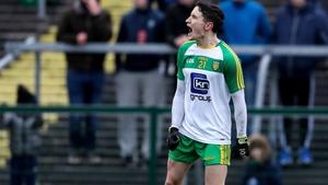 Eoin McHugh celebrates his match-winning point
