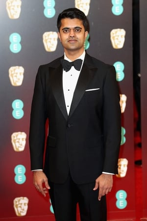 Lion star Divian Ladwa is one of the first stylish men on the red carpet wearing Aquascutum & cuff links by Harrys of London.