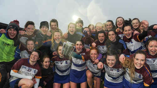 UL players celebrate another Ashbourne Cup triumph